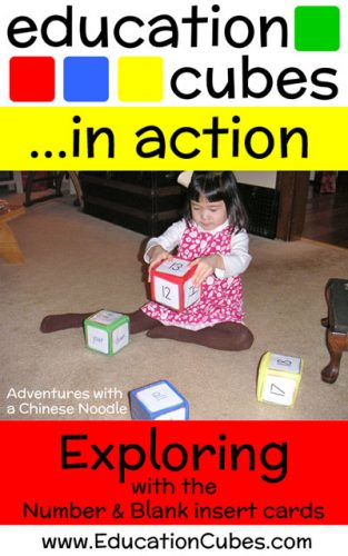 Education Cubes Exploring with Numbers