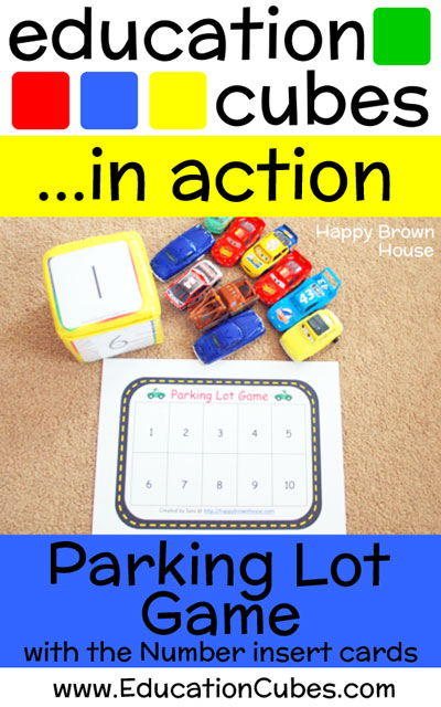 Parking Lot Game with Education Cubes
