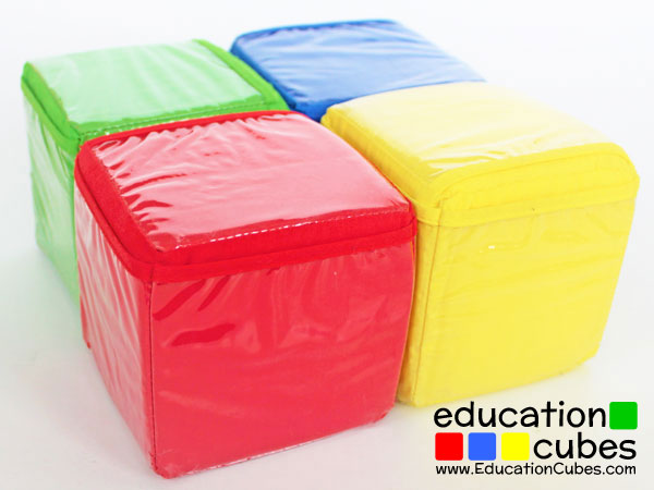 Education Cubes photo blocks