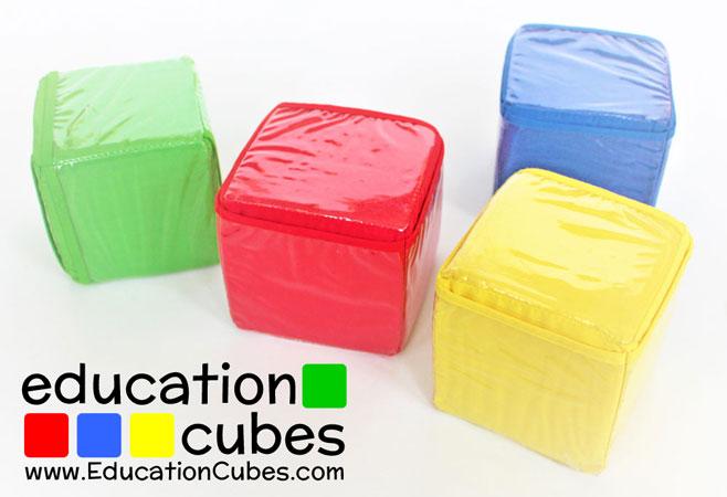 Education Cubes photo blocks