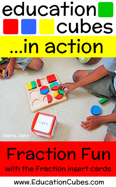 Fraction Fun with Education Cubes