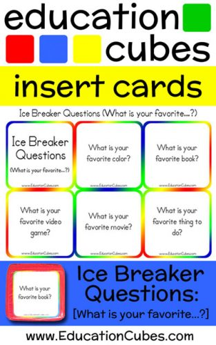 Ice Breaker Questions - What is your favorite...